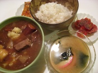 Japanese braised beef Gyuniku no Wafu-ni