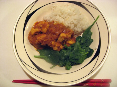 Japanese-style Chicken Curry with Rice