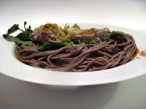 Toshikoshi Soba Noodles, Duck! | Tess's Japanese Kitchen
