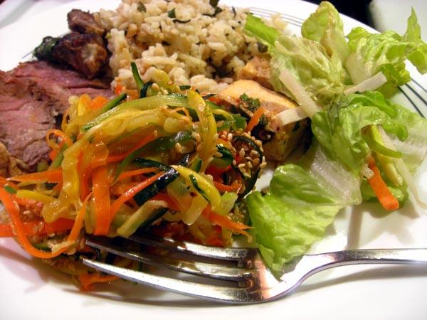 miso marinated beef steak