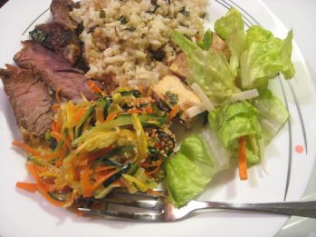 Miso-Marinated beef steak