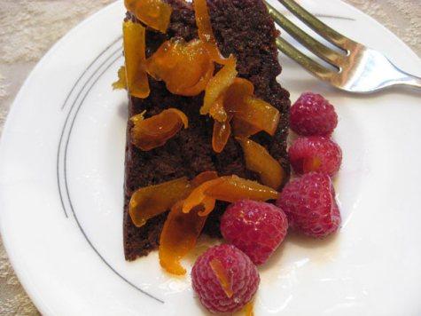 Japanese chocolate cake