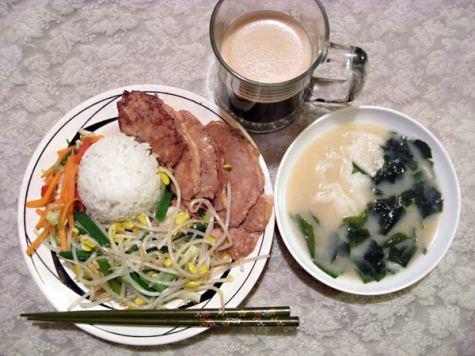 Japanese ginger-pork