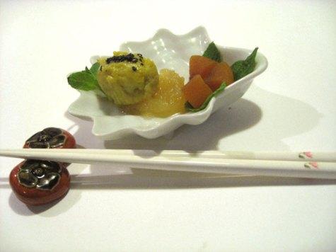 Japanese sweet potato cake