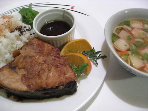 swordfish steak Japanese style
