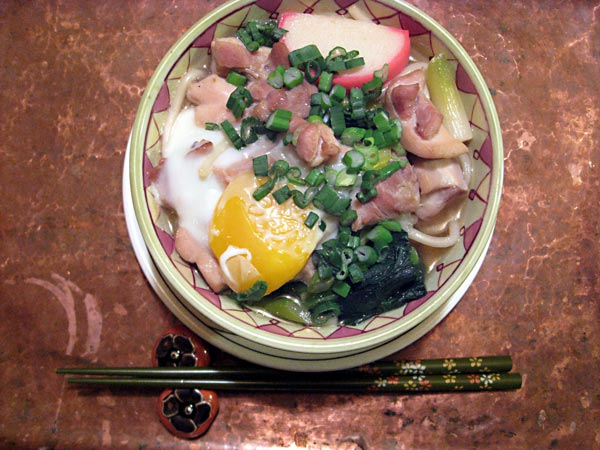 Bowl of Udon with Egg