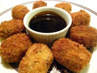 Japanese Potato and Beef Croquettes
