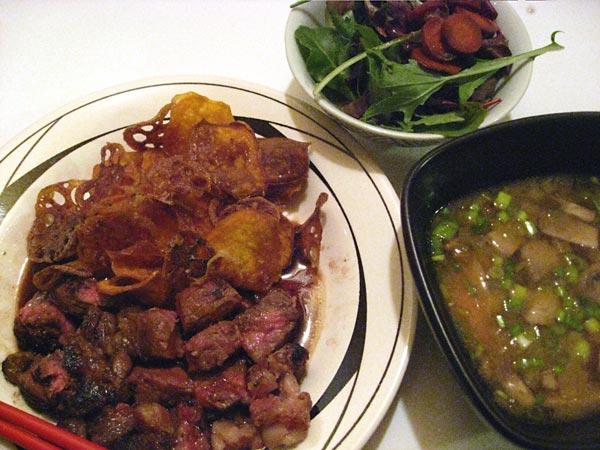 Japanese-Style Beef Steak Wafu Steak