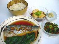 nizakana braised mackerel