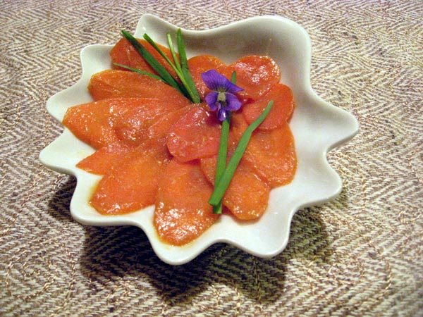 Japanese carrot pickles