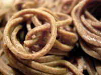 hand made soba noodles