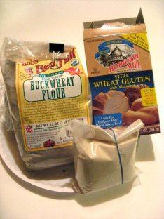 soba dough ingredients