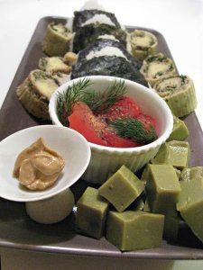 Japanese avocado jelly