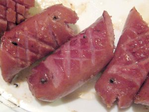 bratwurst fishes