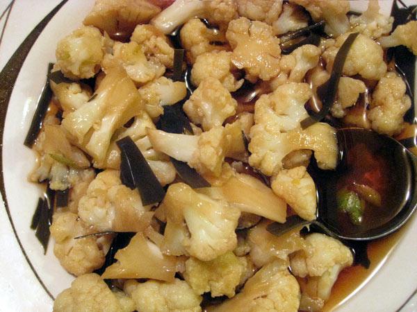 Japanese Cauliflower Tsukemon