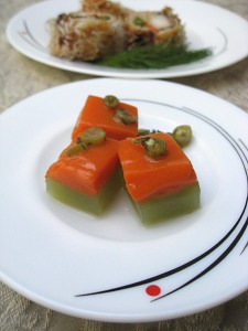 Carrot and Cucumber Kanten