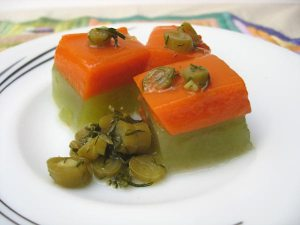 Cucumber and Carrot Kanten