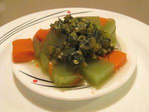 Cucumber and Carrot Agar-Agar