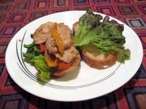Ginger Seared Pork Sandwich