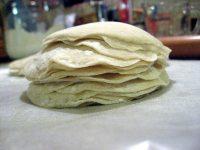 stack of gyoza skins