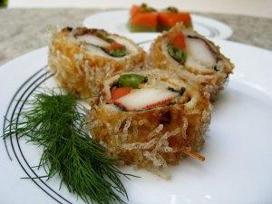Crispy Mung Bean Noodle Chicken