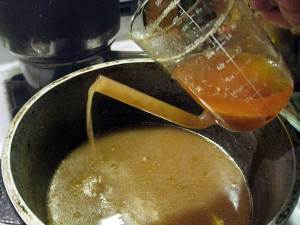 using a fat separator