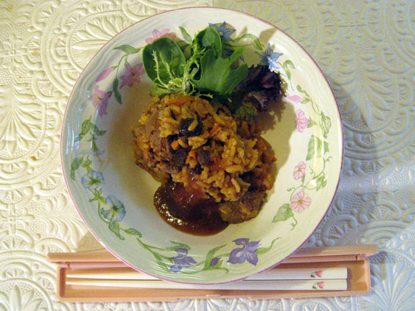 Japanese Stir-Fried Curry Rice