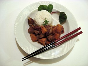 Japanese Sweet and Sour Pork