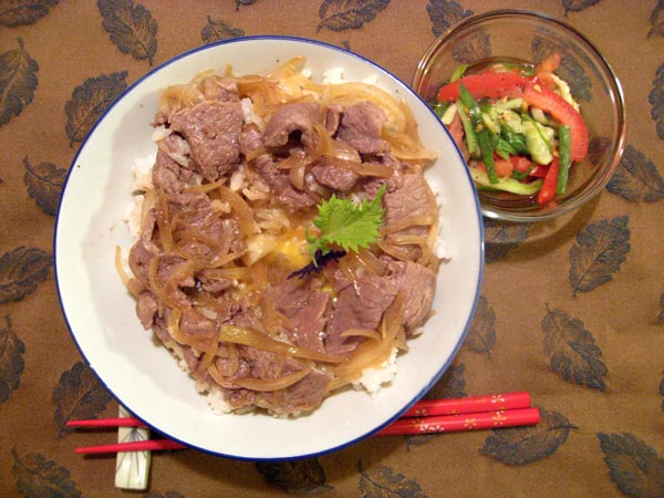 how to cook chicken donburi
