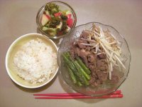 Japanese Stir-Fried Beef with Sesame