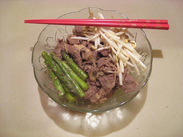 Japanese Pan Fried Beef