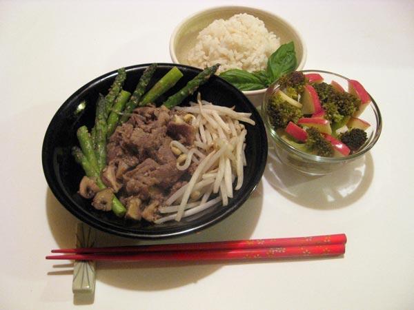 Japanese Sesame Stir-Fried Beef