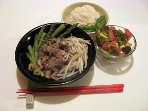 Japanese Sesame Stir-Fried Beef