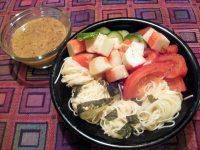 Japanese Noodle Salad with Sesame Dressing