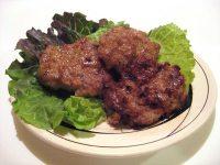 pan fried squid dumplings