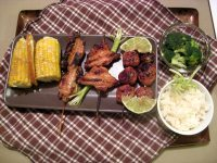 Yakitori, Japanese grilled chicken
