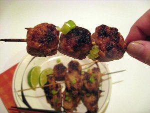 Yakitori Chicken Dumplings