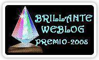 Brilliante Weblog Premio 2008 Award