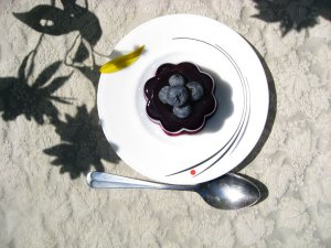 Blueberry Kanten, Japanese Dessert