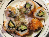 California Style Maki Rolls with Crab