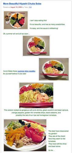 Hiyashi Chuka Soba with Shrimp