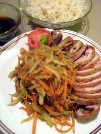 Spicy Stir-Fried Fennel and Carrots