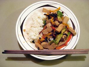 Koya-dofu Freeze-dried Tofu Stir-fry