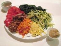 hiyashi chuka soba vegetable toppings
