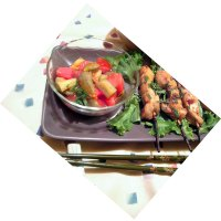 Japanese Tomato Eggplant Salad