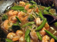 Stir Frying Vegetables