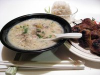 Japanese Oyster Chowder with Miso