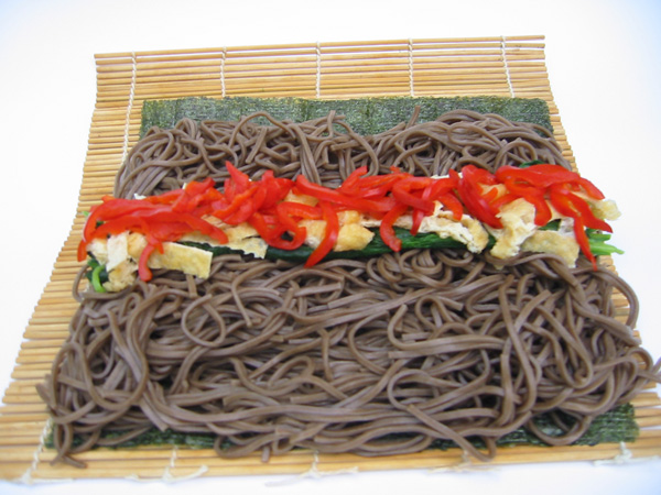 Soba Sushi | Tess's Japanese Kitchen