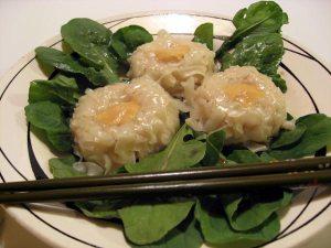 Tofu Daisy Dumplings