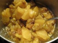Apple Raisin Sauce for Blintzes